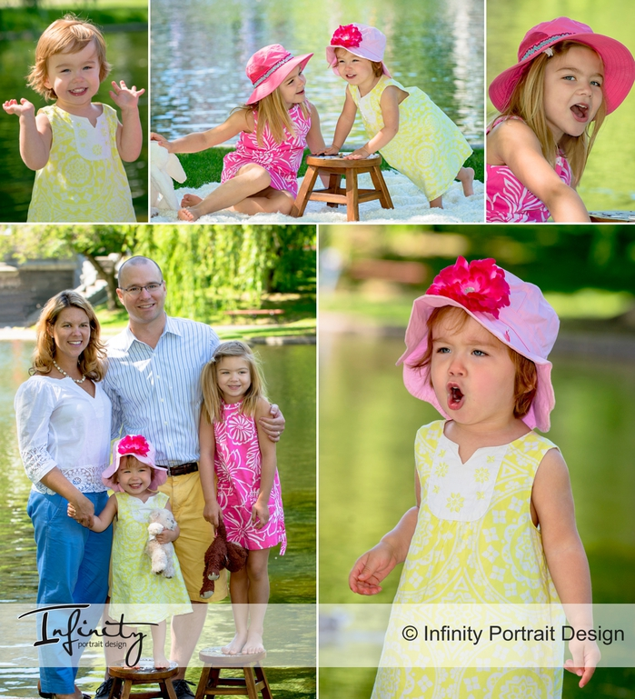 Summer Portrait Sessions in the Park